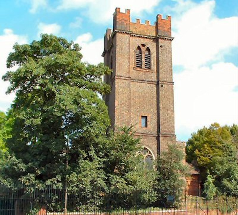 The parish church of St Luke