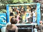 Kid's disco at the Horn Fair