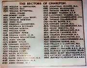 The Rectors of Charlton