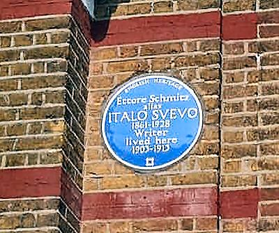 The Italo Svevo plaque
