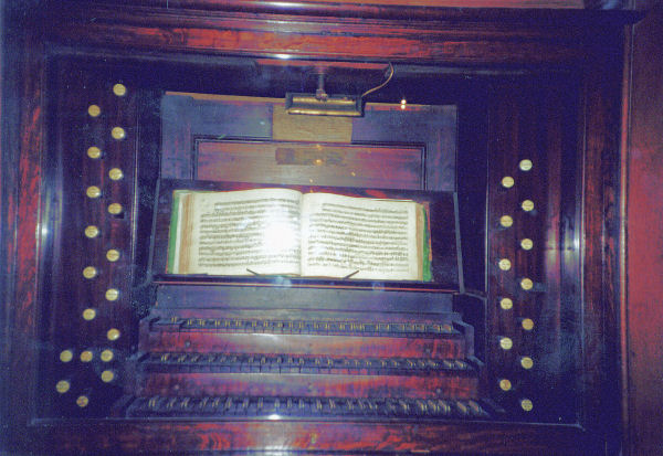 Thomas Tallis Organ