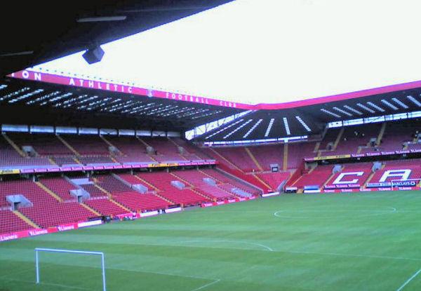 Charlton Athletic ground