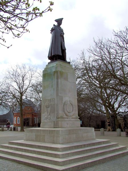 The Wolfe Statue